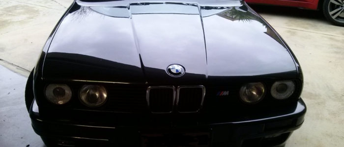 BMW 325i Paintless Dent Repair Custom Polish