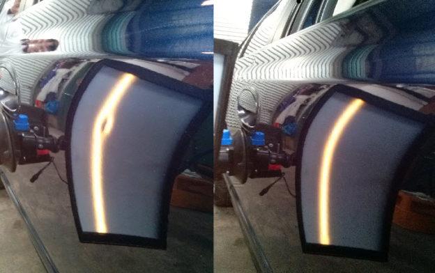 Paintless Dent Repair Bendigo Before and After