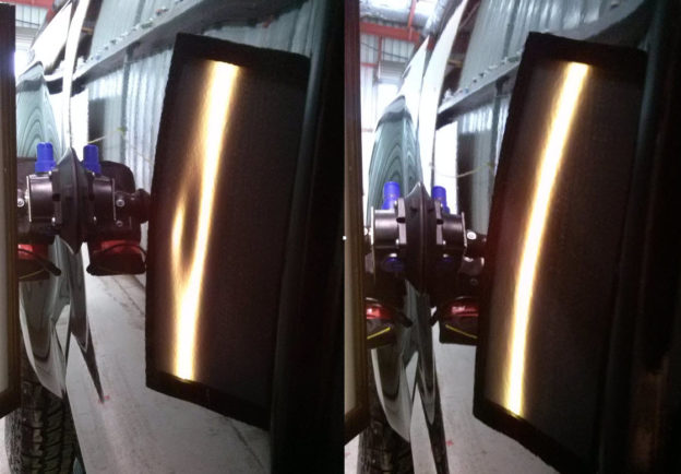 isuzu d-max paintless dent repair before and after