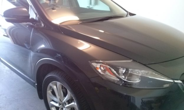 mazda cx-9 paint correction and custom polish