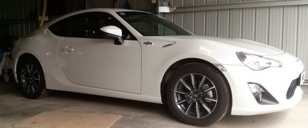 Toyota 86 Toughseal Paint Protection Bendigo