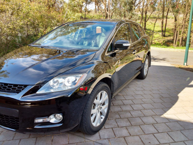 Mazda CX7 Paint Correction and Custom Polish Bendigo