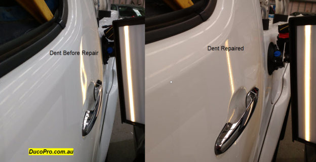 Toyota Hilux Paintless Dent Repair Bendigo