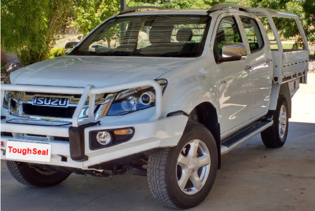 Isuzu Dmax Toughseal paint protection bendigo