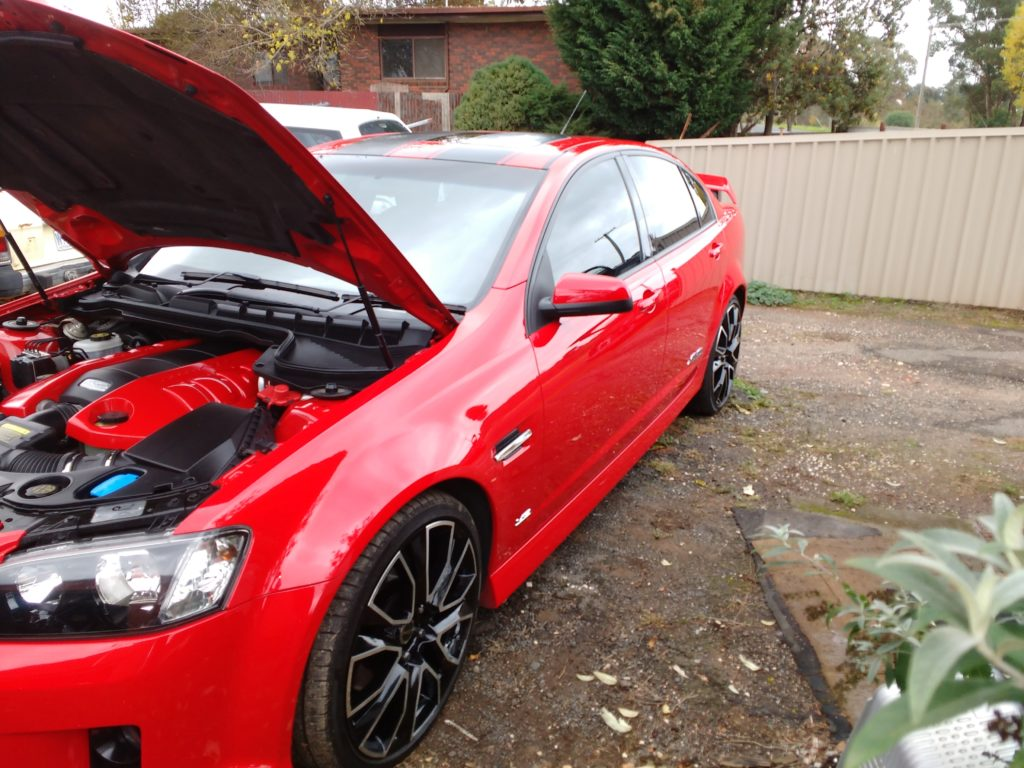 Toughseal paint protection SS Commodore Bendigo