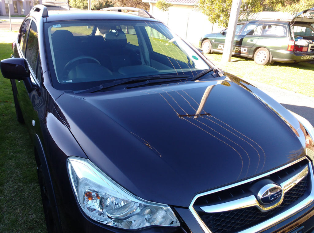 car paint protection bendigo subaru xv toughseal
