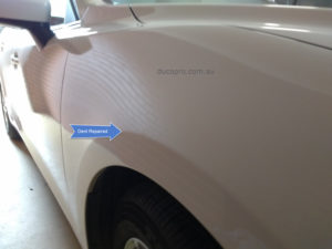 Mazda 3 paintless dent repair after