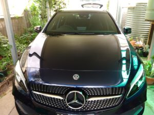 Mercedes A180 AMG Toughseal Paint and Interior Protection