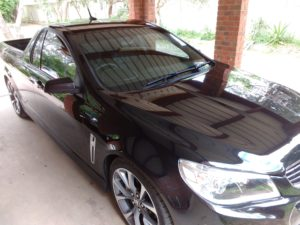 Holden SSV Ute Paintless Dent Repair and Paint Correction Bendigo