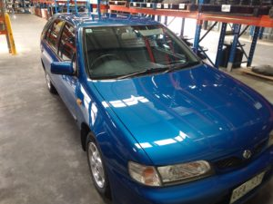 Nissan Pulsar Custom Polish Mirror Shine Bendigo