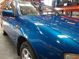 Nissan Pulsar Dent Repair and paint correction bendigo