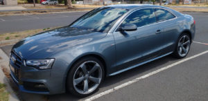 Audi A5 Paiint Correction Bendigo
